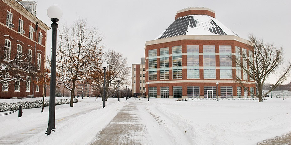 ACES library in winter