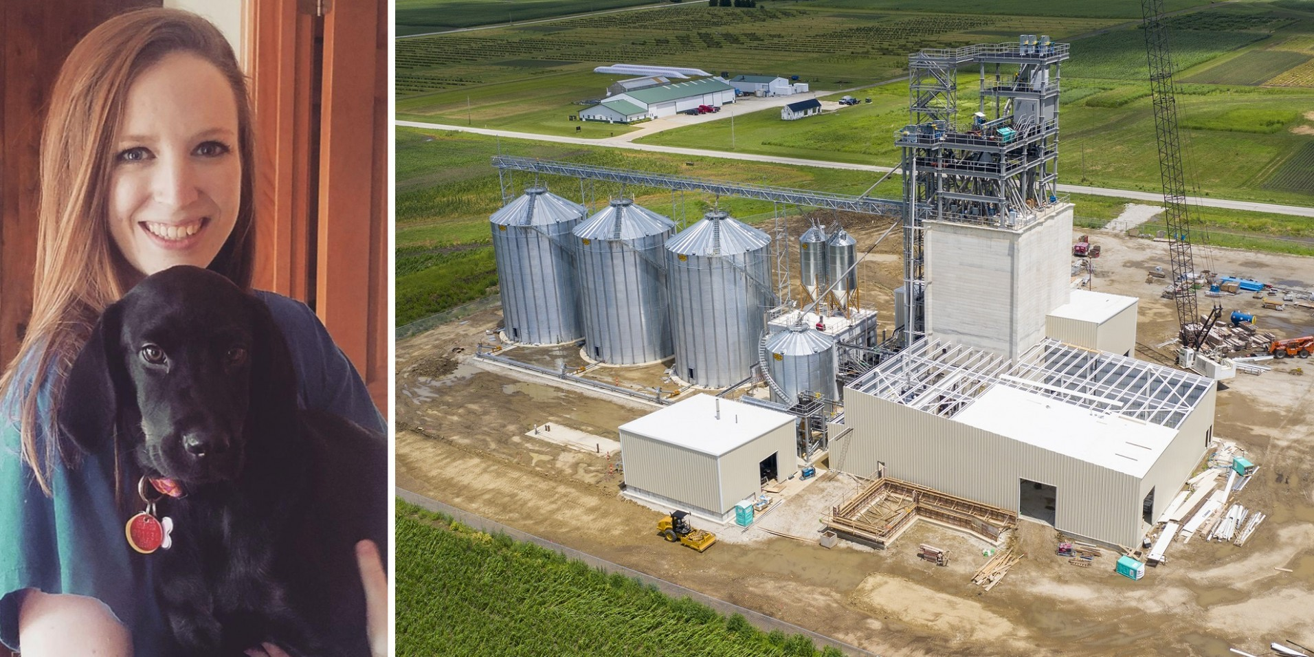 Lauren Reilly and Feed Technology Center