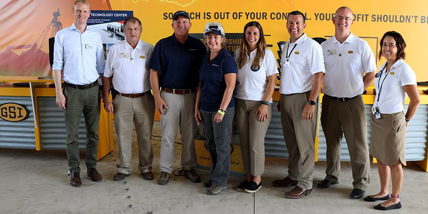 AGCO team with Johnson and Kidwell