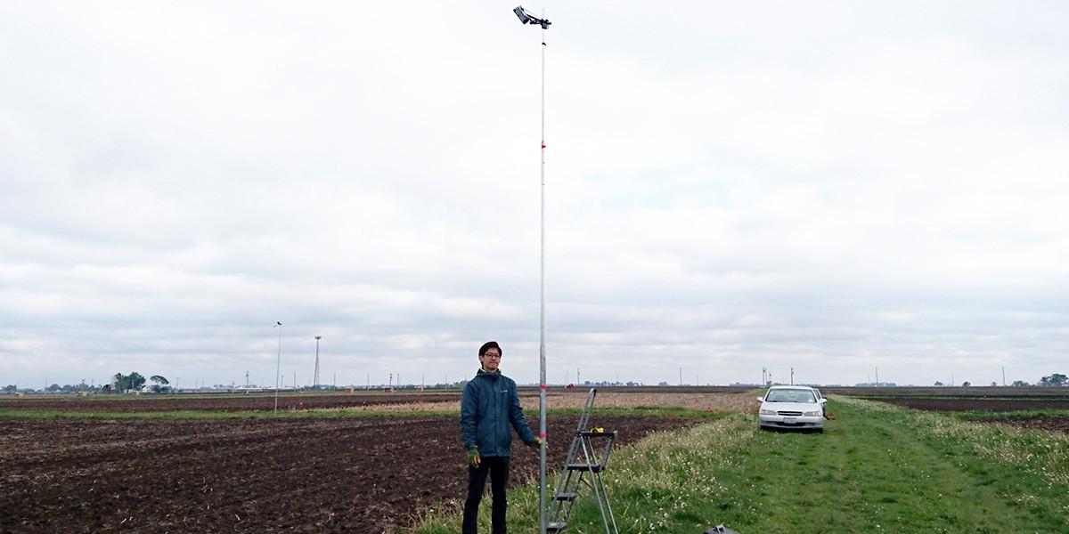 Hyungsuk Kimm with field-installed camera
