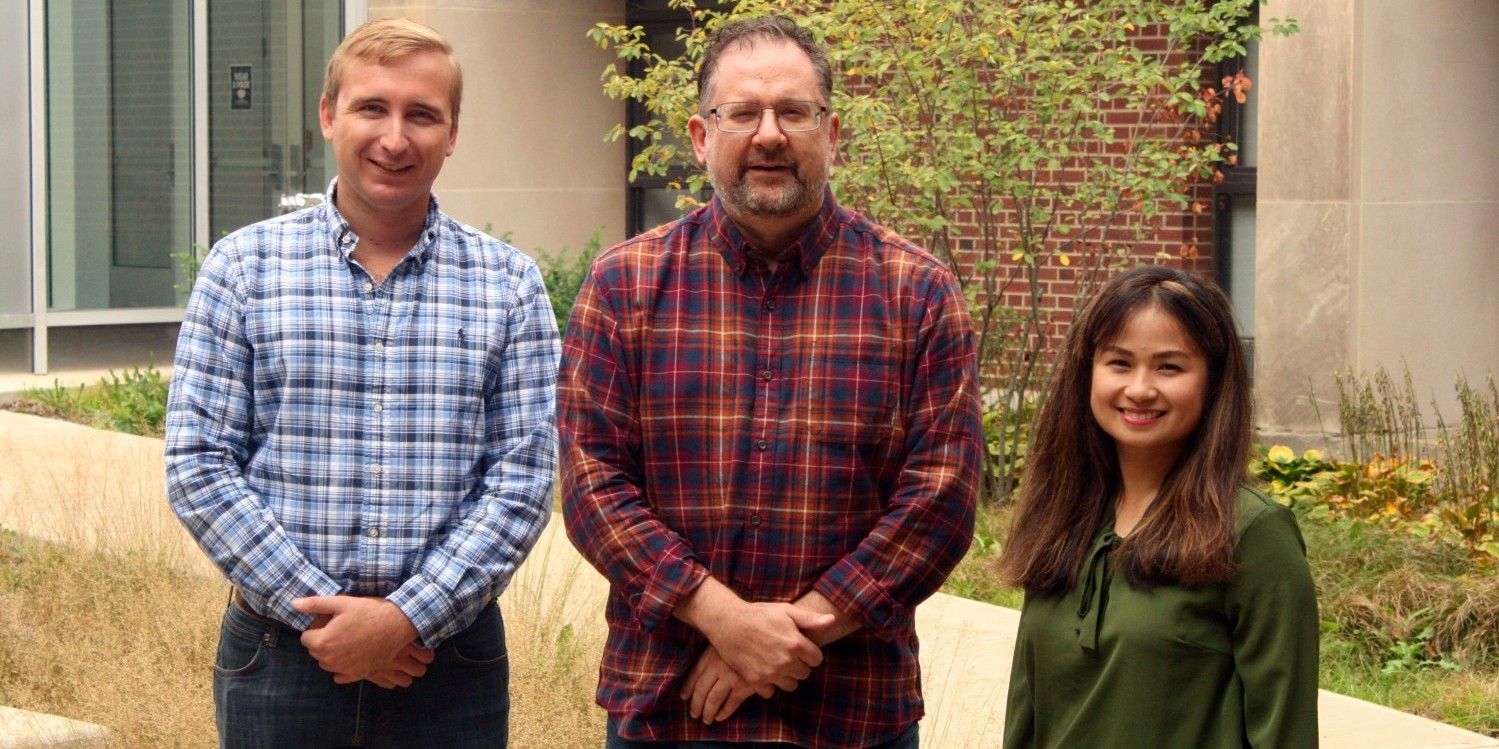From left: Seth Strom, Dean Riechers, and Crystal Concepcion