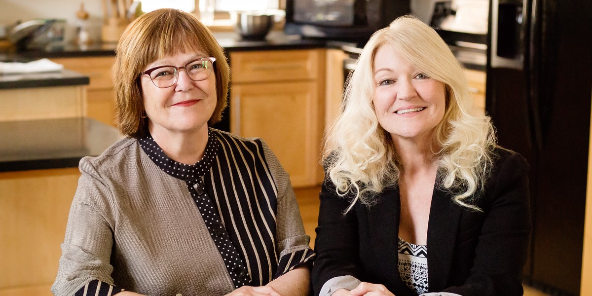 portrait of Barbara Fiese and Kelly Bost