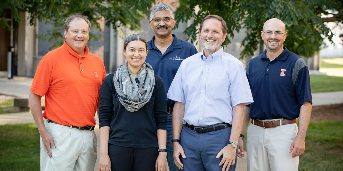 Members of the CROPPS team at Illinois