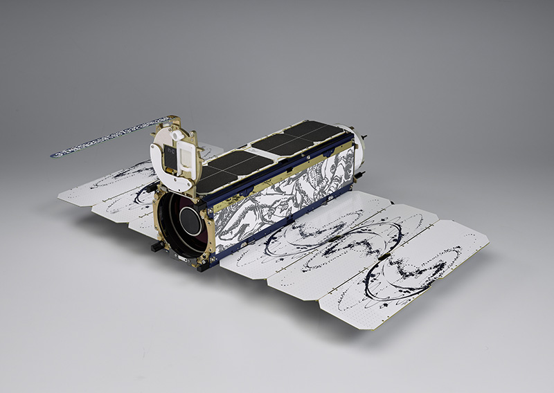 Nanosatellite from Planet Lab (photo provided by Planet Lab)