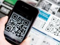 QR Code on a Smartphone