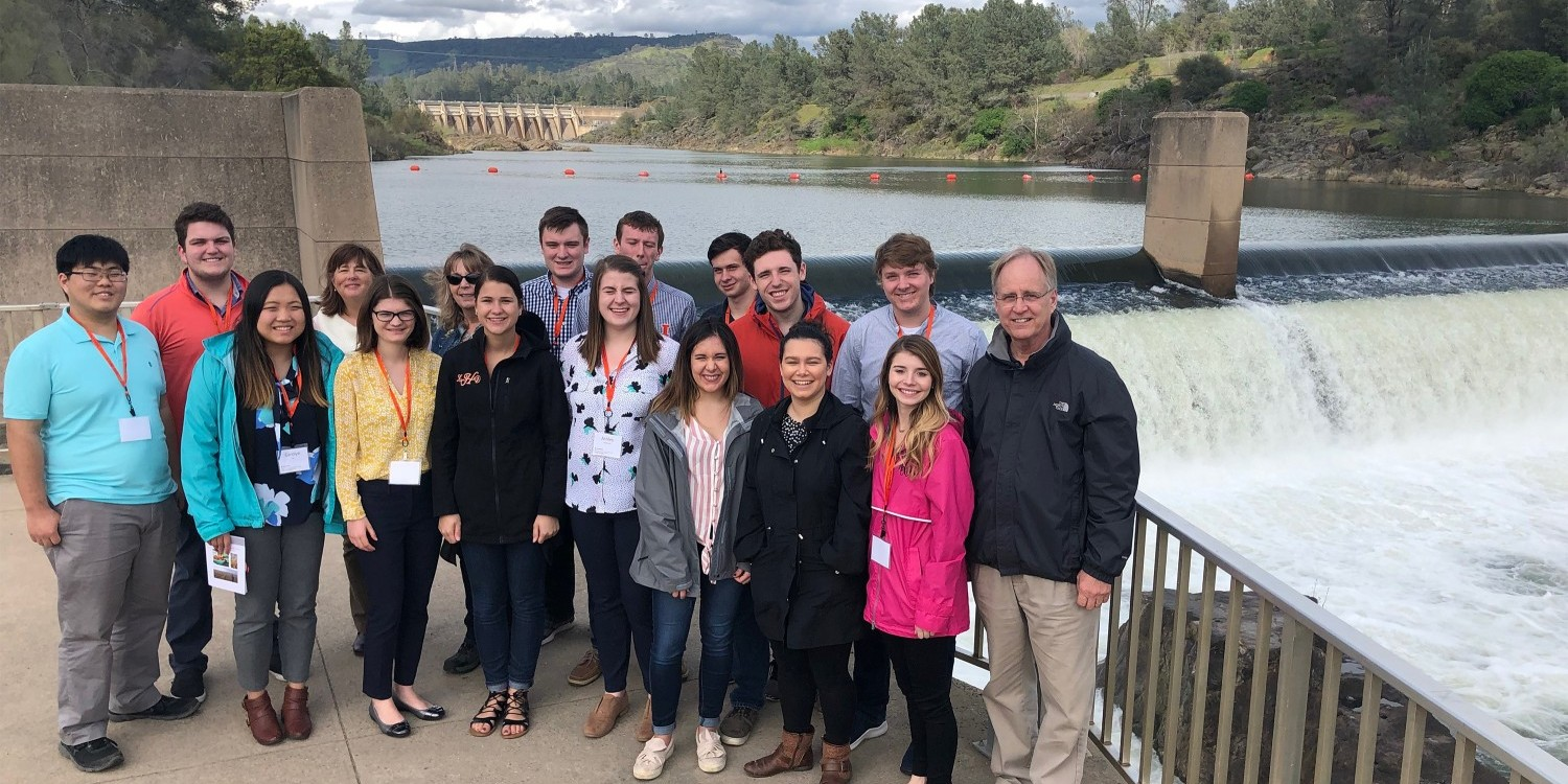 Farm, Food and Environmental Policy in California study tour group